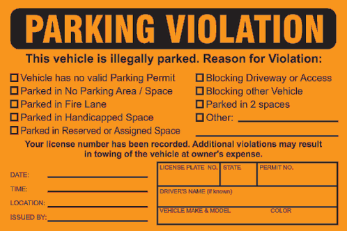 Canadian Company Issuing Parking Tickets To California Drivers