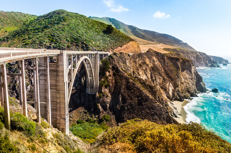 Rocky Creek Bridge | Big Sur, CA
