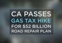 California Increased Gas Tax is Here