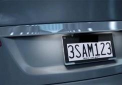 License Plates in California