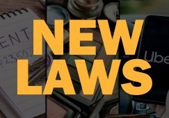 New California Traffic Laws For 2020