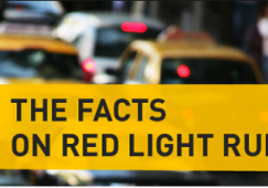 Running a Red Light Results in Two-car Collision