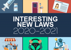 New California Driving Laws 2021