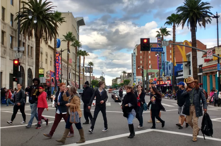 Pedestrian Friendly Crosswalks are Popping up All over California