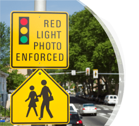 Red Light Camera Photo Enforced