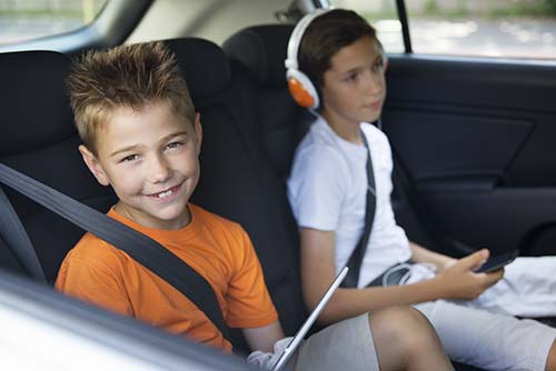 Child Safety Restraints CVC 27360.5