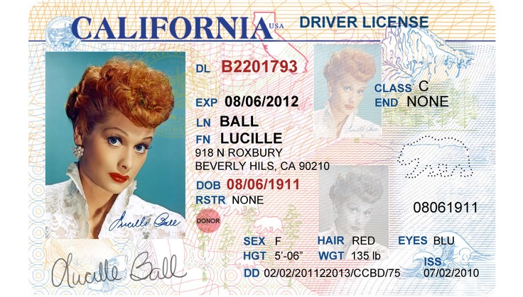 Cvc License California Driver's Tickets Traffic 12500