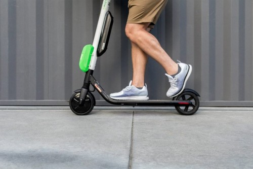 Officer issuing Operation of Motorized Scooters in California