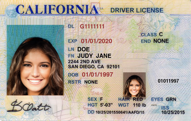 12951 In To Failure Present A Cvc Drivers California License
